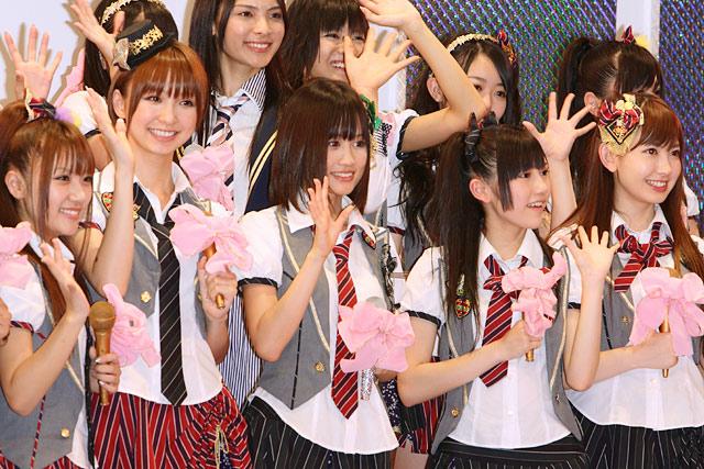 AKB48 13thシングル選抜メンバー(撮影:野原誠治)