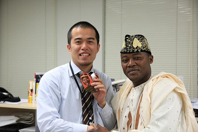 左:ゾマホン、右:田端信太郎