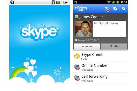 Android版Skypeがテレビ電話対応に!インターフェイスが一新