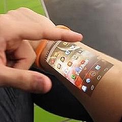 f6bde7deb6 これは欲しい 腕がスマートフォンの画面になる製品が開発中 - ライブドア ...
