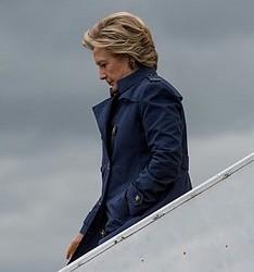 トランプ氏に敗北したヒラリー・クリントン氏(画像は『Hillary Clinton 2016年10月24日付Instagram』のスクリーンショット)