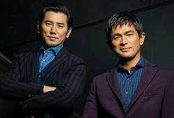 『天空の蜂』で共演した同世代の本木雅弘&江口洋介  - 写真:金井尭子