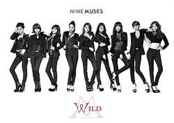 Nine Muses、新曲「WILD」のジャケットイメージ公開