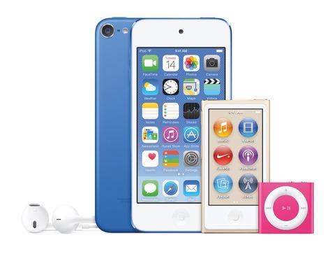 Apple、64bit対応A8チップや8メガピクセルiSightカメラなどを搭載しながら4インチと小型な第6世代「iPod touch」を発表!iPod nanoやshuffleの新色とともにすでに販売中