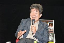 多岐にわたるトークを展開しファンを魅了した高畑勲監督