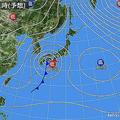 15日、太平洋側を中心に大気の状態が非常に不安定になる恐れ