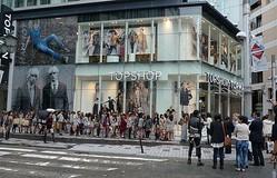 世界一おしゃれな行列が新宿に TOPSHOP / TOPMANがオープン