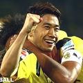 今季リーグ戦初ゴールを決めたドルトムントの香川真司【写真:Getty Images】