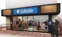 コロンビア 都内初の路面店オープン