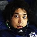 中断期間中に行なわれた練習試合でも問題なくプレーしていた内田。それだけに今度の怪我が長引かないことを祈るばかりだ。 (C) Getty Images