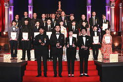 昨年の最優秀賞受賞者 および新人賞受賞者(C)日本アカデミー賞協会