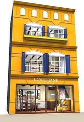 ロクシタン 青山にハウス型旗艦店オープン