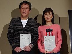 『X-ファイル 2016』公開アフレコイベントでの風間杜夫と戸田恵子
