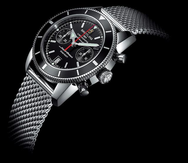 【バーゼル2012新作情報】ブライトリングが『スーパーオーシャン ヘリテージ』シリーズを発表!