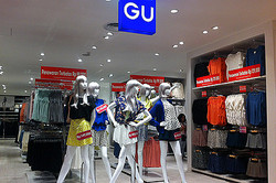 ジーユー海外初進出 今秋上海ユニクロ店内に1号店
