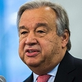 国連のアントニオ・グテレス事務総長。米ニューヨークの国連本部で(2017年1月3日撮影)。(c)AFP=時事/AFPBB News