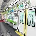 JR山手線の新型車両導入で、中刷り広告が消える!(提供、JR東日本)