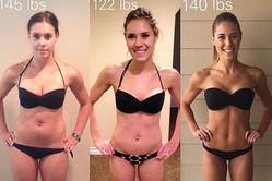 「体重なんてただの数字であること」を身をもって証明した女性に納得