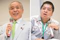 オーストラリア潜水艦の受注失敗は、日本の大きな「外交的敗戦」だと語る佐藤優氏(右)と鈴木宗男氏