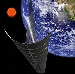 レーザー宇宙エネルギー利用システム (C) JAXA