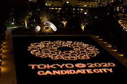 東京ミッドタウンで3千個が灯るキャンドルナイト 4日間開催