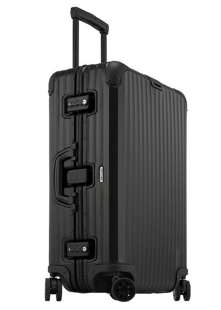 リモワ、人気のアルミスーツケースシリーズ 『トパーズ ブラック コレクション』を新発売
