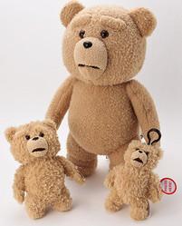 世界一ダメなテディベア「テッド」のぬいぐるみ PLAZAが発売