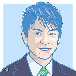 富川キャスターは民進党・岡田代表を指名しようとしたのだが…