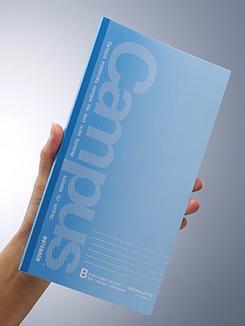 コクヨが10月3日から創業100周年を記念して発売するスリムサイズノート。(写真提供:コクヨ)