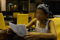 高島容疑者が「お気に入り」だったという売春婦の女性は写真を見ながら「彼とセックスしているところをマリアさんに撮影してもらった」と証言