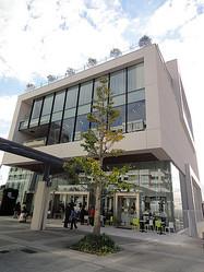 4つの箱を積み上げた新施設「ヨツバコ」 横浜センター北にオープン