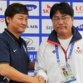 [アジア大会]いざ韓国戦へ、手倉森監督「明日を楽しみにしている」