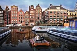 ロボット船がアムステルダムの交通を変える