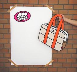アニメのような2Dバッグ「JumpFromPaper」 国内販売開始