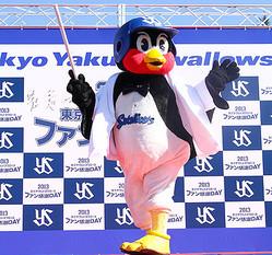 ヤクルト選手がモデルに 109メンズとコラボファッションショー開催
