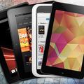「iPad mini」を他社の4機種と比較