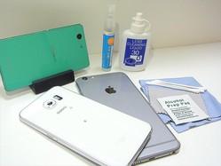 防水でないiPhoneの故障を防ぐは夏のクリーニング術