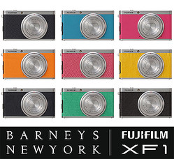 バーニーズモデルのFUJIデジカメ 本革素材で70台限定発売