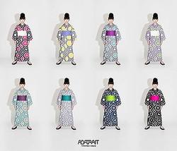 ヒロコレッジ高橋理子が花火大会「LIGHT UP NIPPON」の浴衣をデザイン