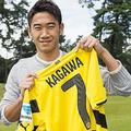 ドルトムント復帰の香川、新背番号は「7」に決定!