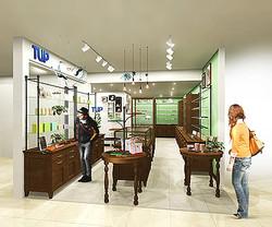 メガネ雑貨そろえたエロチカの新業態「TLIP(トリップ)」 新宿に1号店