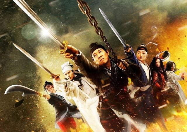 映画『ドラゴンゲート 空飛ぶ剣と幻の秘宝』 (C)2011Bona Entertainment Company Limited,All Rights Reserved