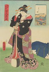 江戸時代の「和のライフスタイル」を振り返る 歌川国貞の浮世絵展が原宿に