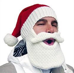 ワイルドなヒゲで防寒! 『BeardHead ニットキャップ』のクリスマス限定モデル