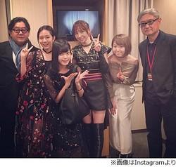 欅坂46平手があっちゃん&篠田らと異色写真