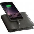 お財布内蔵のモバイルバッテリーで充電できる「iPhoneのための財布」