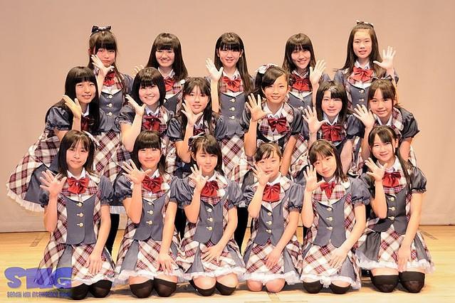 『愛と義』の米沢のご当地アイドルAi-Girls(アイガールズ)がお披露目! 山形に新たな風が吹く!