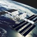 国際宇宙ステーション(ISS)完成イメージ 提供:宇宙航空研究開発機構(JAXA)