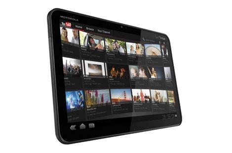 iPadを追撃せよ!モトローラの新タブレットはAndroid3.0マシン