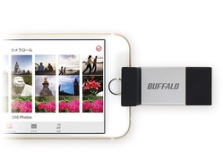iPhoneの写真や動画もワンタッチ保存!  使い勝手が抜群のLightning対応USBメモリー